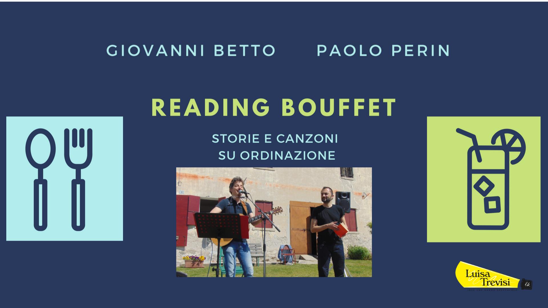 Reading Buffet | Giovanni Betto e Paolo Perin