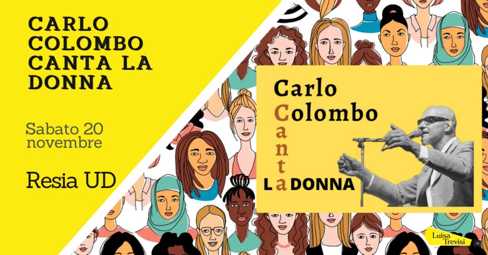 211120_CARLO COLOMBO CANTA LA DONNA RESIA UD