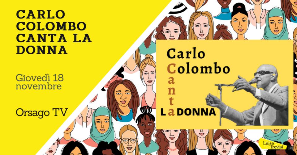 211118_CARLO COLOMBO CANTA LA DONNA Orsago TV